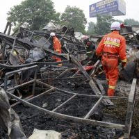 La operación de búsqueda y rescate continúan. Foto:AP