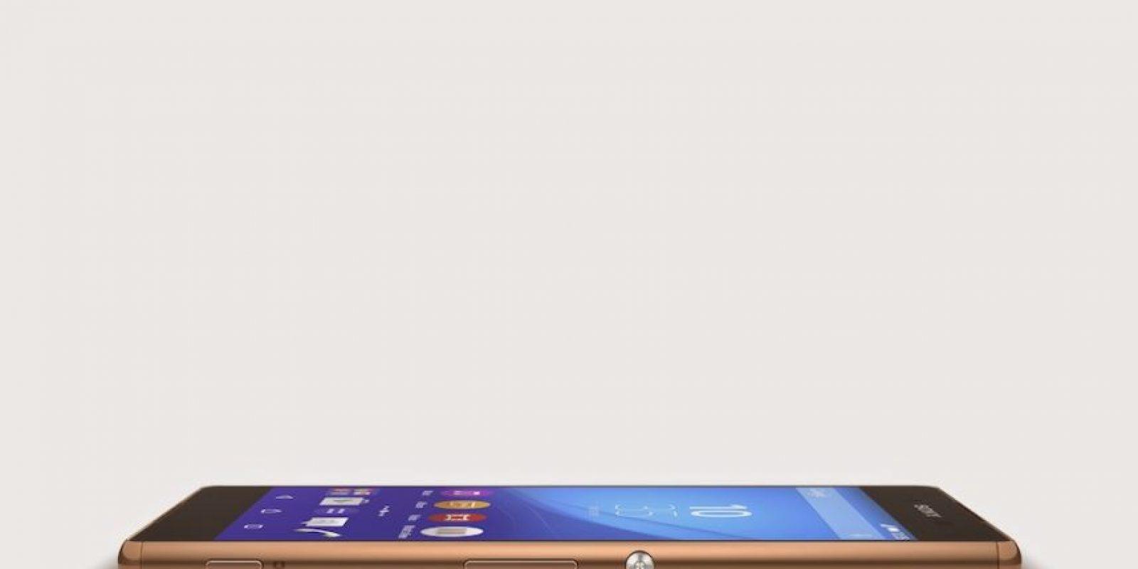 Su pantalla es de 5.2 pulgadas. Foto:Sony