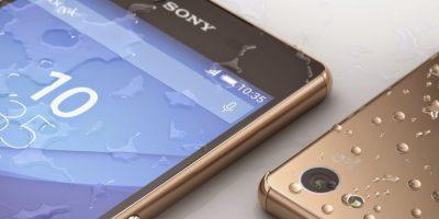 Resistente al agua y el polvo con la certificación IP65 y IP68. Foto:Sony