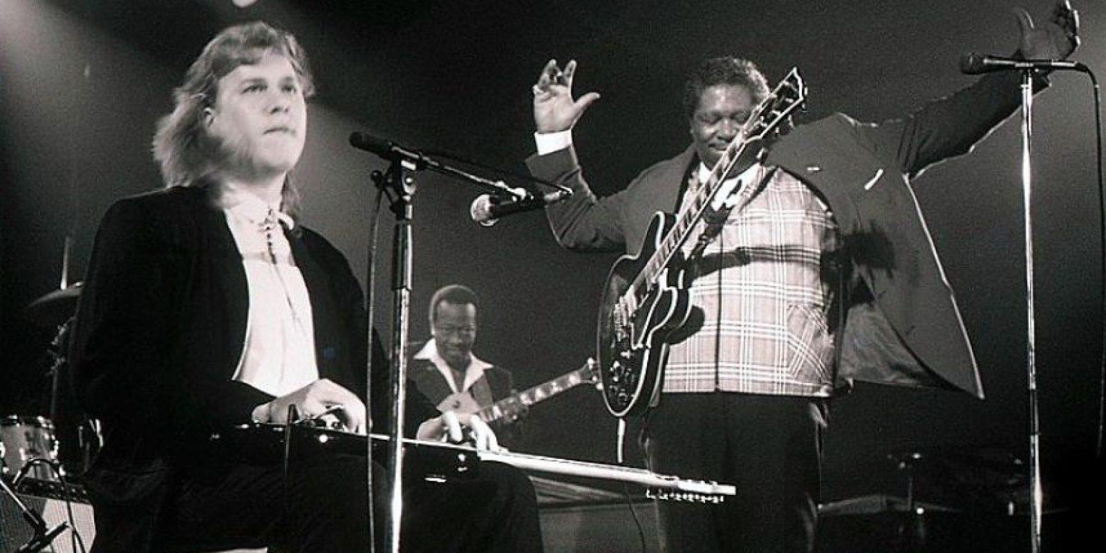 Hasta hace unos años, ofrecía hasta 100 conciertos al año Foto:vía facebook.com/bbking