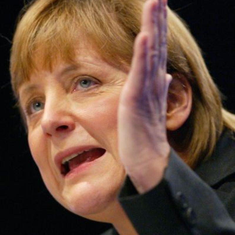 Angela Merkel (2003) Foto:Getty Images
