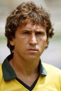 7. Zico (Brasil) Foto: Getty Images