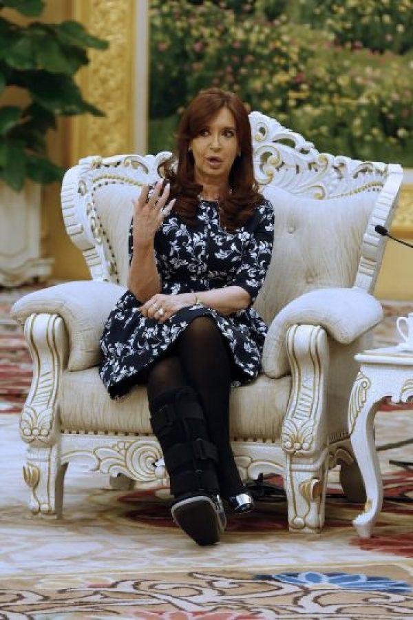 Cristina Fernández (2015) Foto:Getty Images