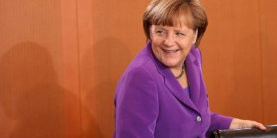 Angela Merkel (2015) Foto:Getty Images