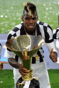 """Paul Pogba, una de las """"joyas"""" de la Juventus es de los futbolistas más deseados en la actualidad. Foto:Getty Images"""