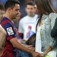 Xavi está casado desde 2011 con Nuria Cunillera. Foto:Getty Images