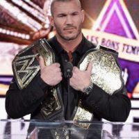 El luchador, de 35 años, tiene 12 títulos: 8 como Campeón de la WWE y 4 como Campeón Mundial Peso Pesado de la WWE. Foto:Getty Images