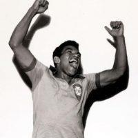 El crack brasileño, compañero de Pelé, jugó las ediciones de 1957 y 1959 y en ambas se tuvo que conformar con ser segundo lugar, aunque entre ambos torneos, él y Brasil ganaron el Mundial de 1958. Foto:Getty Images
