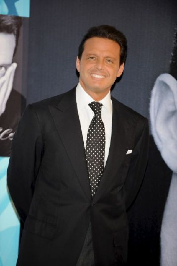 El cantante mexicano Luis Miguel Foto: Getty Images