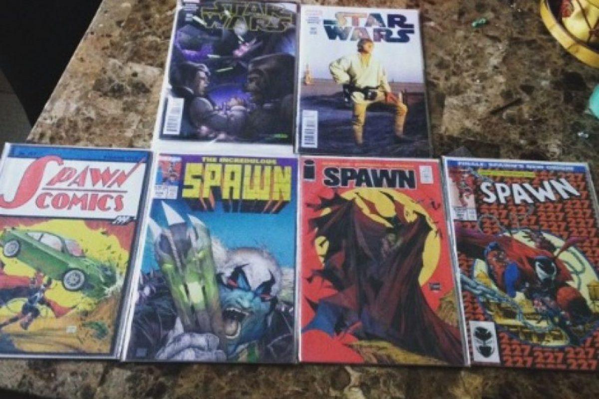 """5.- Los cómics de """"Spawn"""" Foto:vía Instagram"""