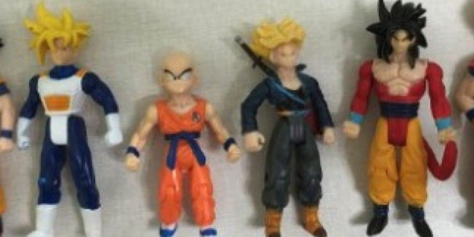 """10.- Las figuras de acción de """"Dragon Ball"""" Foto:Amazon"""