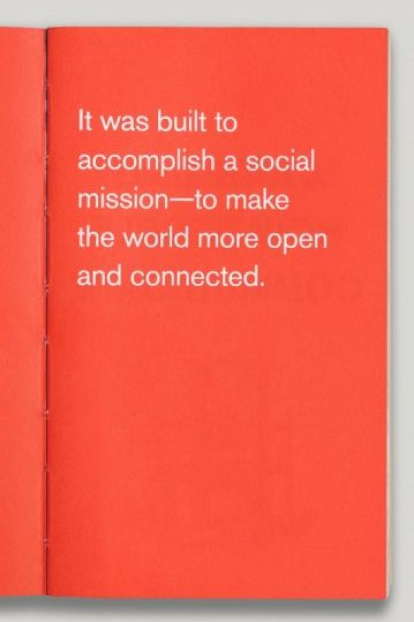 Fue construido para cumplir una misión social – para hacer el mundo más abierto y conectado. Foto:officeofbenbarry.com