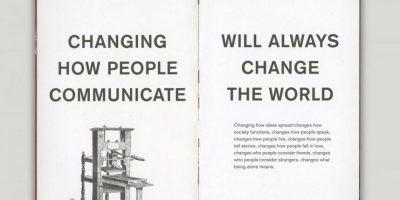 Cambiando la forma de comunicarse de las personas podremos cambiar el mundo. Foto:officeofbenbarry.com