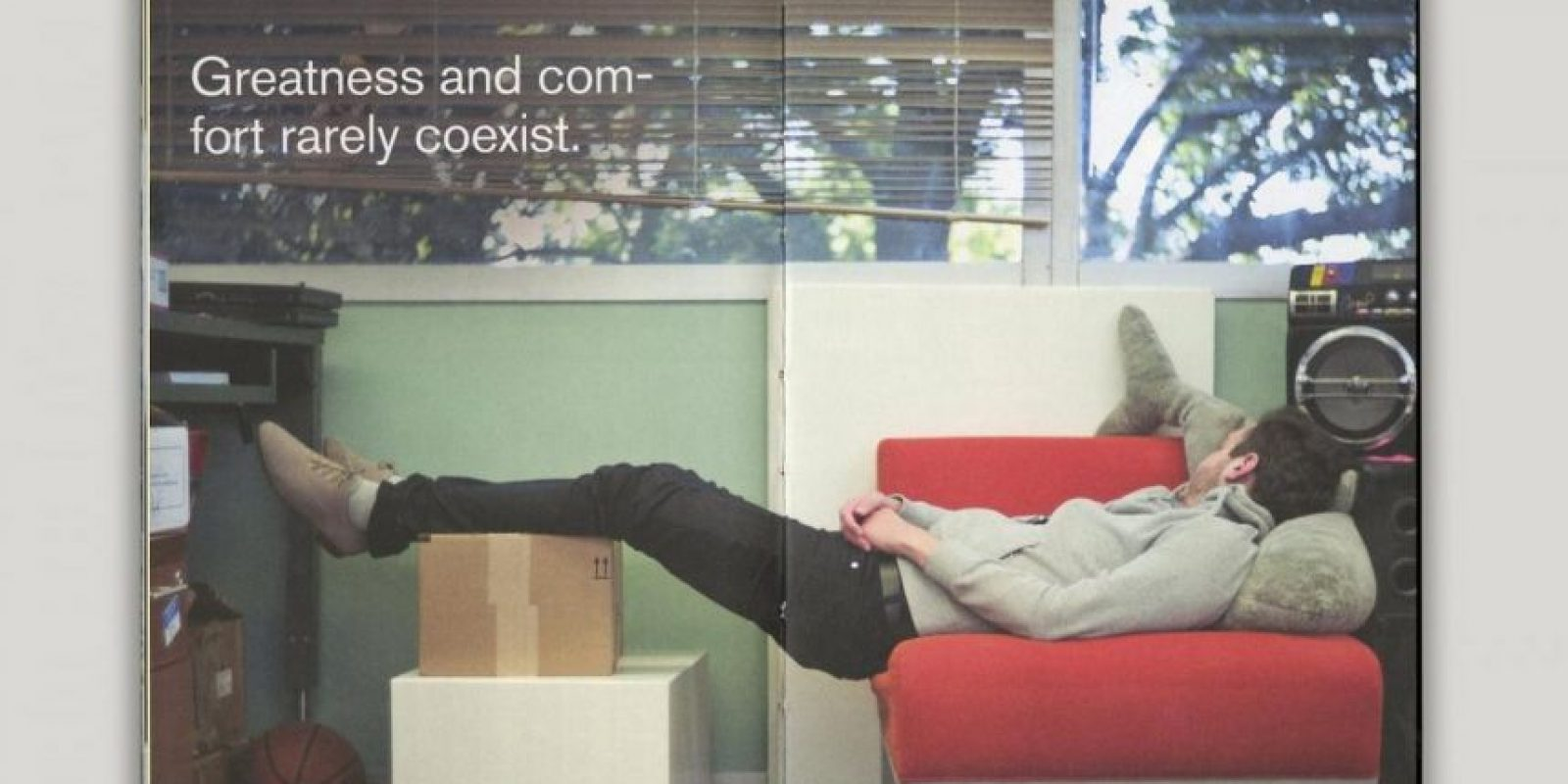 Grandeza y confort raramente coexisten. Foto:officeofbenbarry.com