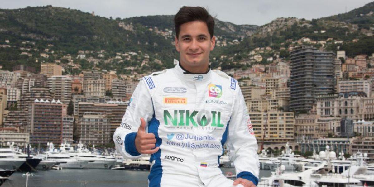 Julián Leal batalló en Mónaco