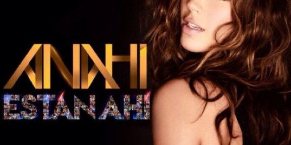 Anahí estrena canción a través de sus redes sociales