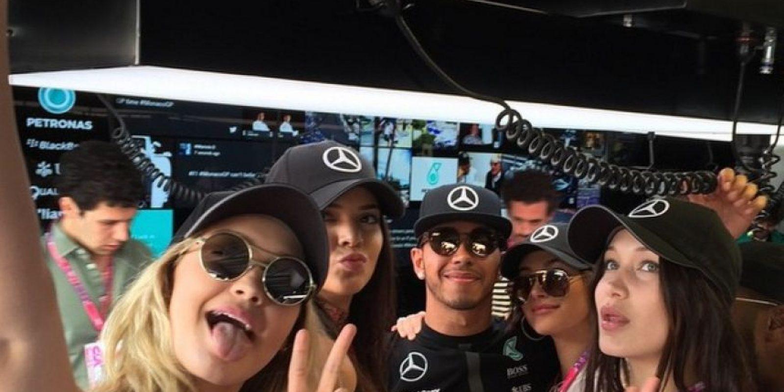 Kendall Jenner y Lewis Hamilton han sido vistos en las últimas semanas muy juntos. Foto:Getty Images