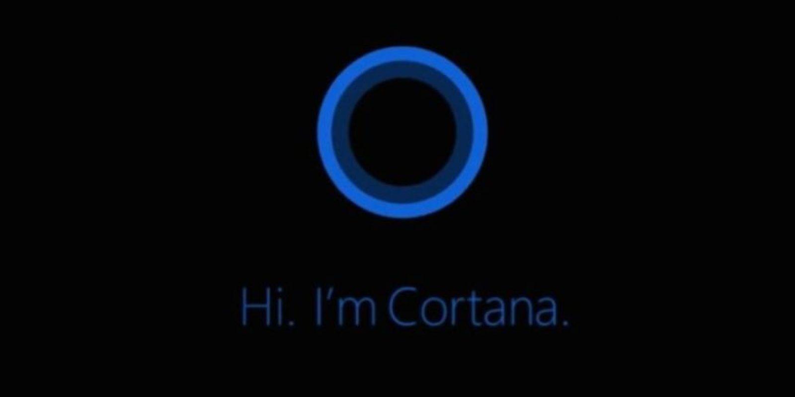 Cortana hizo su debut en abril de 2014. Foto:Microsoft