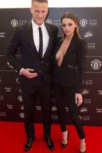 Es la esposa de Anders Lindegaard, el portero suplente del Manchester United. Foto:AFP