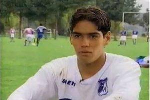 A los 15 años entrenó por algunos días con el equipo de Millonarios, aunque se fue pronto a Argentina. Foto:Youtube.com