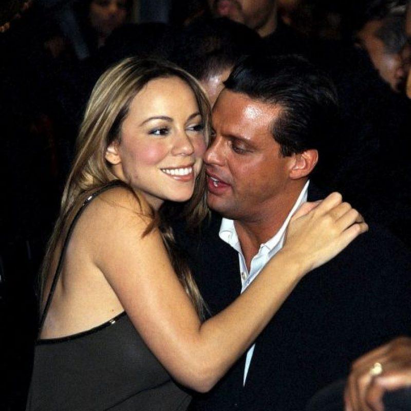 Terminaron en 2001. Mariah, por ese entonces, tuvo una fuerte crisis personal y se rumoró que pudo haber sido causada por su rompimiento con Luis Miguel. Foto:Grosby Group