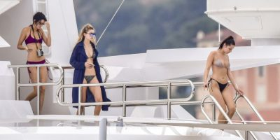 Kendall Jenner, Gigi Hadid y Bella Hadid Foto:Grosby Group