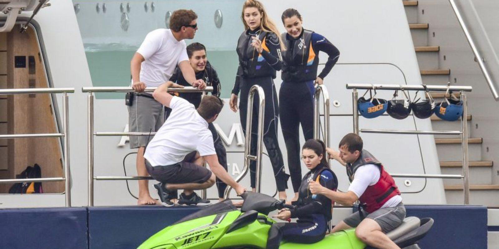 Kendall Jenner, Gigi Hadid, Bella Hadid y Hailey Baldwin Foto:Grosby Group