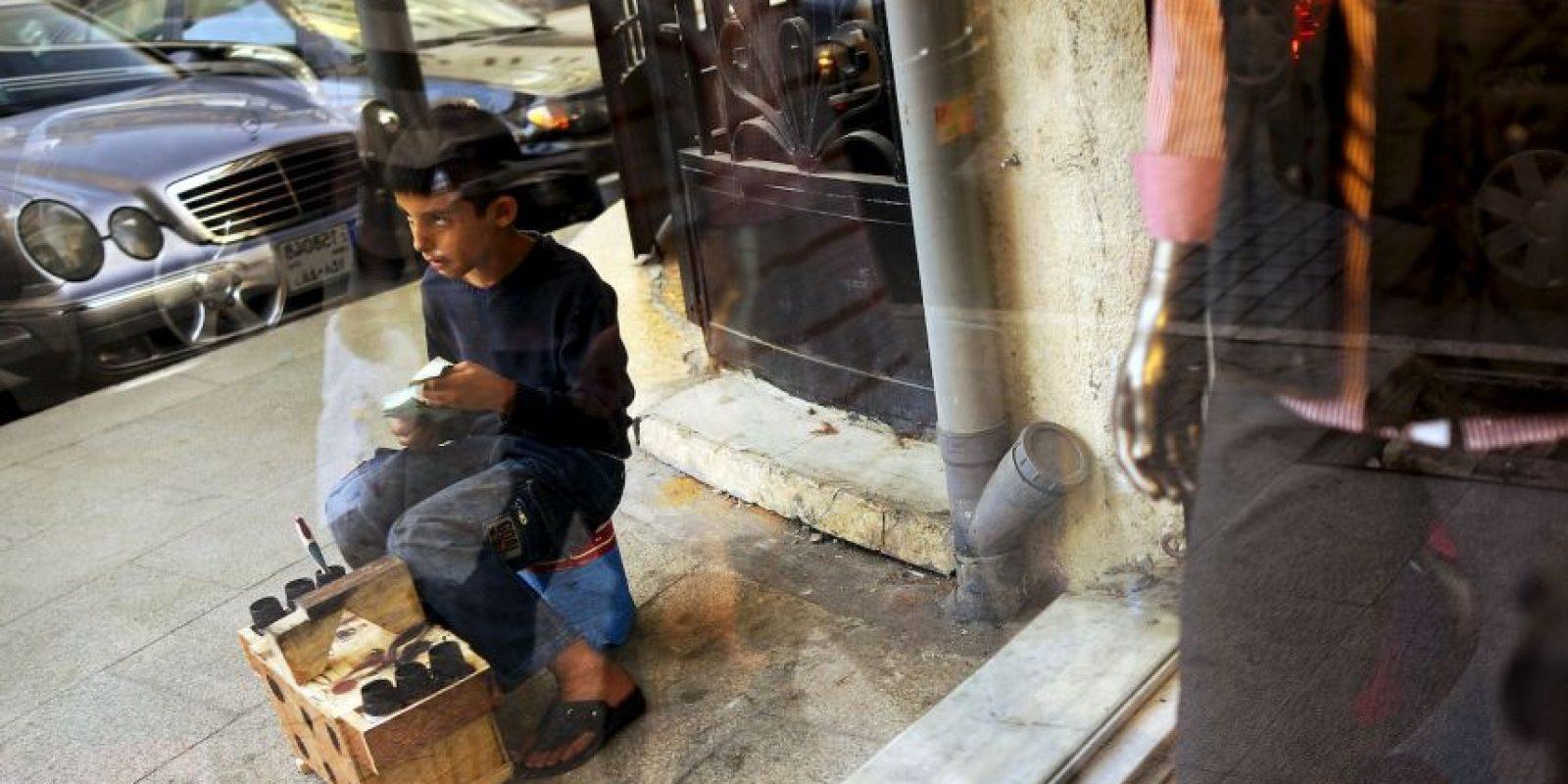 Incluso se resisitó a que las autoridades se llevaran a su hijo. Foto:Getty Images