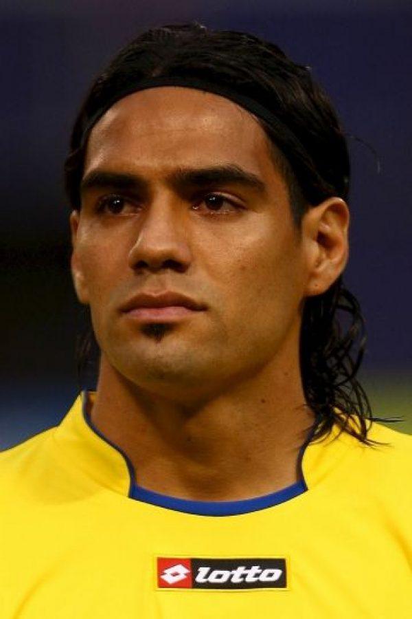 Falcao durante un amistoso entre Colombia y Venezuela en 2009. Foto:Getty Images