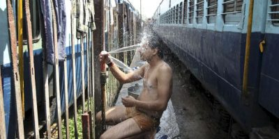 Extrema ola de calor deja al menos 500 muertos en India. Foto:AP