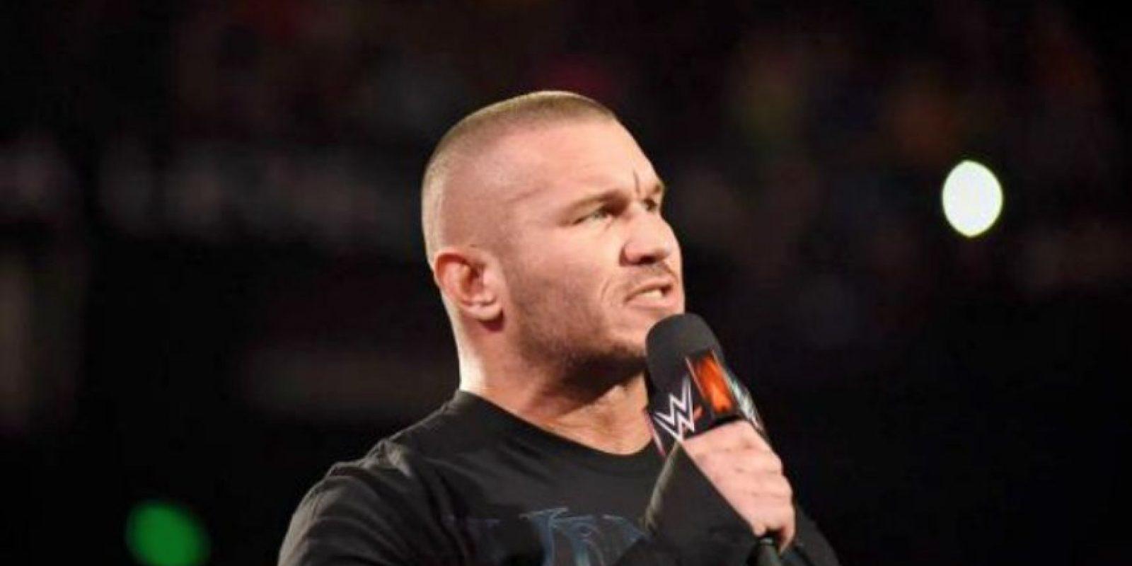 Randy Orton es uno de los luchadores más conocidos y seguidos de la WWE. Foto:WWE