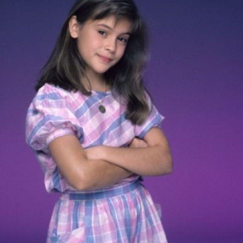 """Alyssa Milano se hizo famosa en """"¿Quién manda a quién?"""" en los años 80. Foto:vía ABC"""
