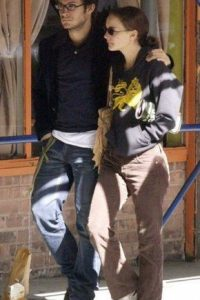 Los actores comenzaron a salir en 2003 Foto:Pinterest