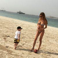 En diciembre de 2012 nació Julian, el hijo de ambos. Foto:Vía instagram.com/missebeqiri