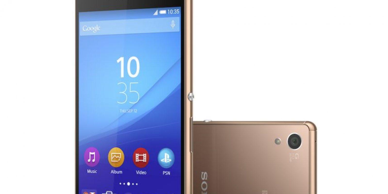 Así es el nuevo Sony Xperia Z3+ Foto:Sony
