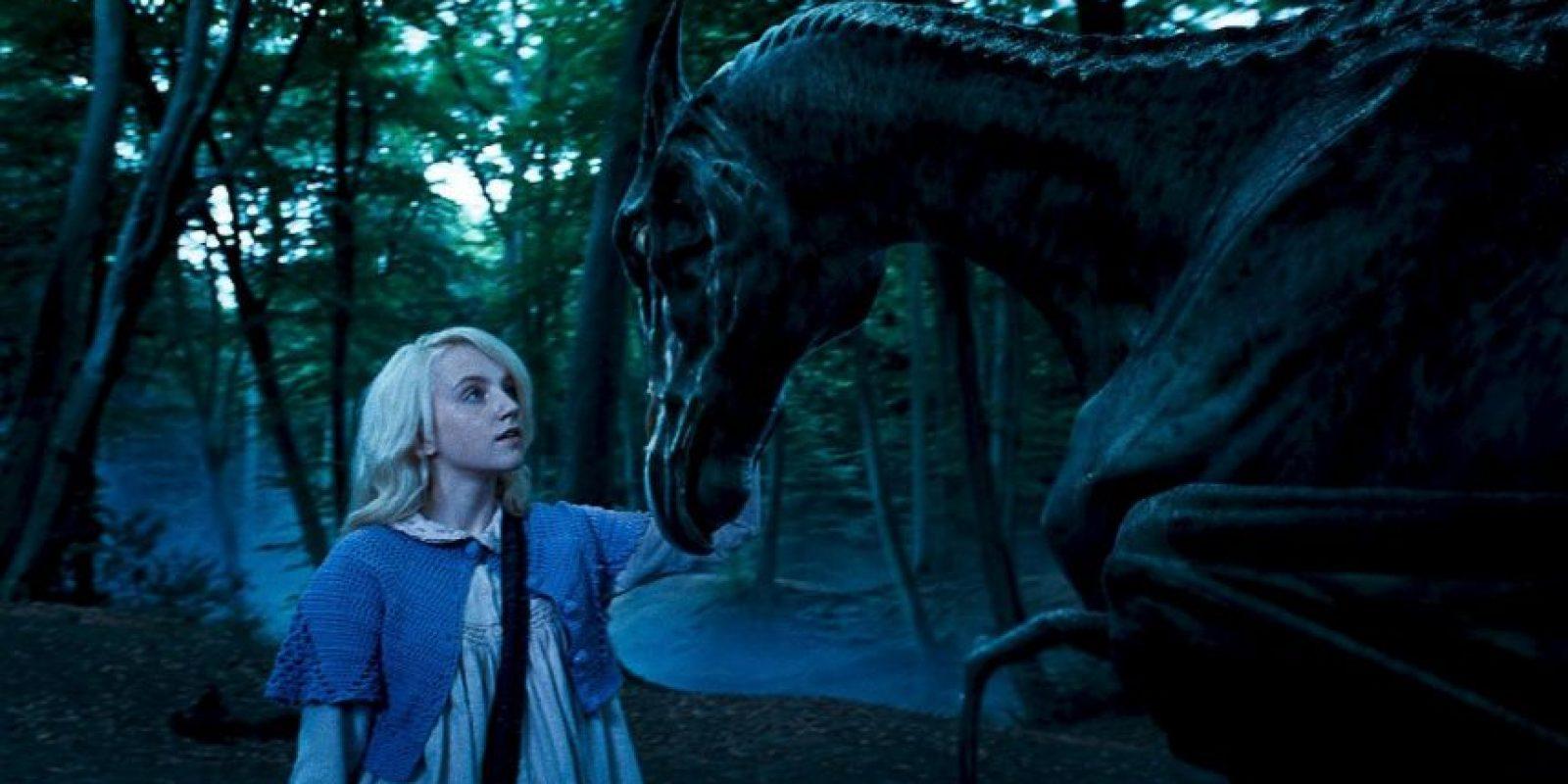 """Saltó a la fama con su papel en """"Harry Potter"""", donde interpretó a la misteriosa """"Luna Lovegood"""" Foto:vía facebook.com/harrypottermovie"""
