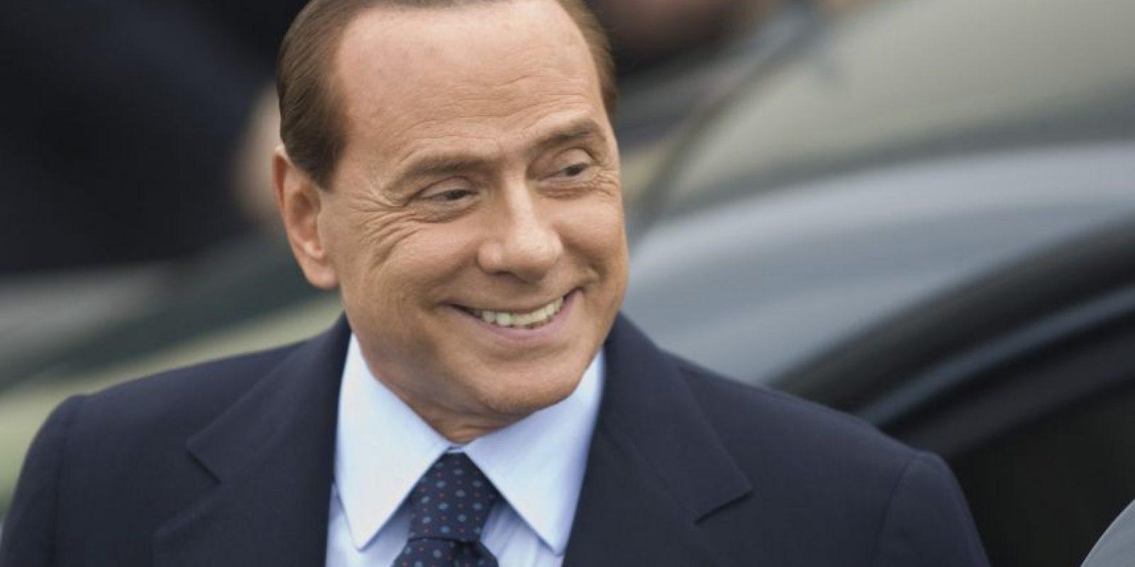 3. Silvio Berlusconi Foto:Getty Images