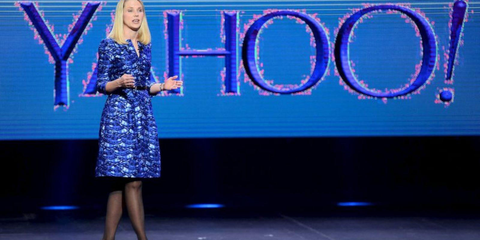 La CEO de Yahoo ocupa el puesto 22 de la lista de Forbes y tiene 39 años. Foto:Getty Images