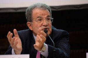 Romano Prodi (1939). Foto:vía Getty images