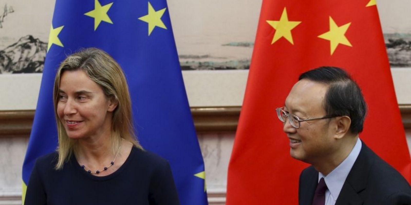Es Alta Representante de la Unión Europea para Asuntos Exteriores y Política de Seguridad. Ocupa el puesto 36 de la lista y tiene 41 años. Foto:Getty Images