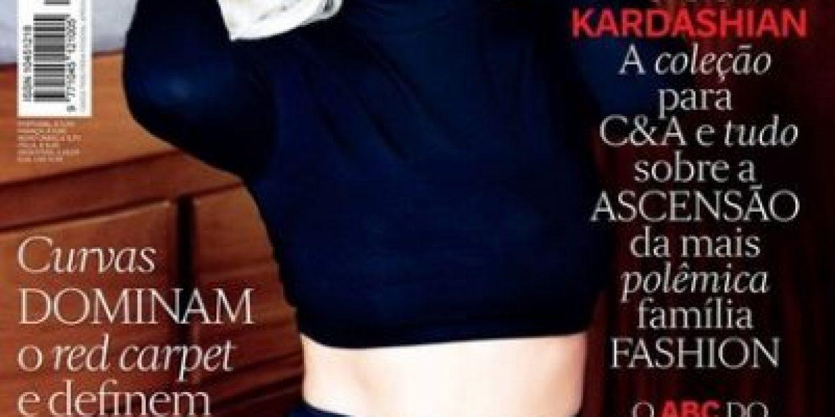 Kim Kardashian se convierte en Marilyn Monroe para la revista Vogue