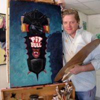 Wilson estudió fotografía, dibujo y pintura en la Academia de Arte de Los Ángeles. Foto:bigpopfun.com