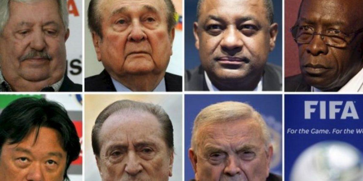 Estos son los 7 altos funcionarios de la FIFA detenidos por corrupción