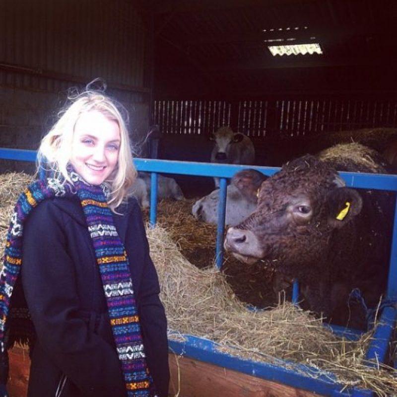 Es vegana, por lo que simpatiza con las campañas para la protección de los animales. Foto:vía instagram.com/msevylynch