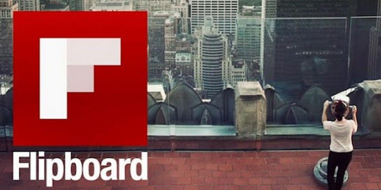 Flipboard se ha convertido en la aplicación que todos desean adquirir y estas son las razones de ello. Foto:Flipboard