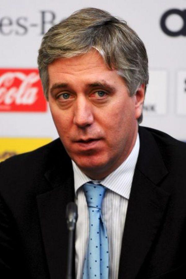 John Delaney, director ejecutivo de la Asociación de Fútbol de Irlanda Foto:Getty Images