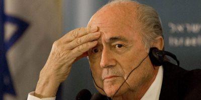 3. ¿Qué sucede con Joseph Blatter? Foto:AP