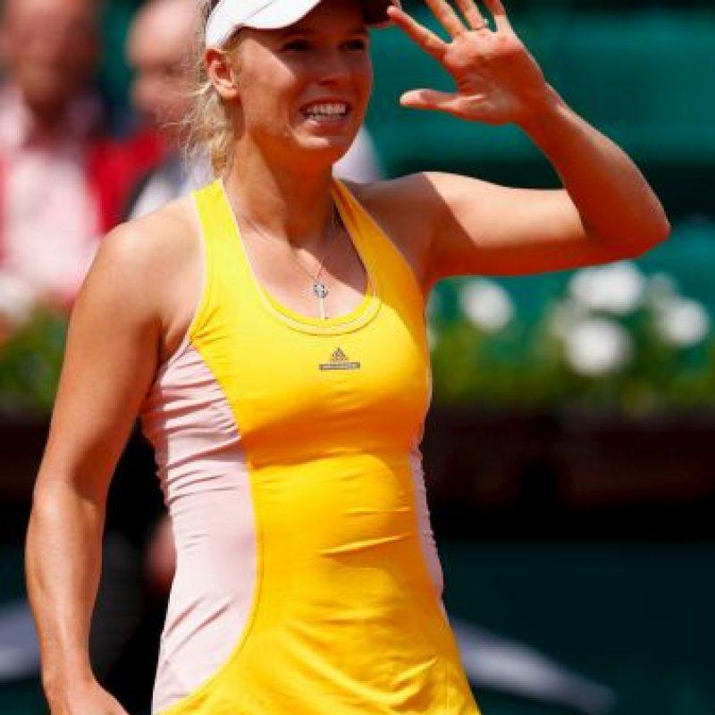 En la rama femenina, Caroline Wozniacki (5) superó a la italiana Karin Knapp en dos sets: 6-3, 6-0. Foto:Getty Images