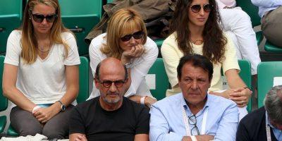 Sus padres y su novia, Xisca Perelló, estuvieron presentes apoyando al de Mallorca. Foto:Getty Images