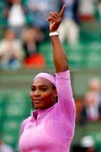 Serena Williams, la número uno del mundo, debutó frente a la checa Andrea Hlavácková. Foto: Getty Images
